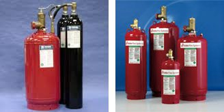 Extinguisher tanks
